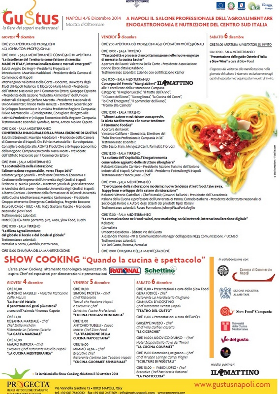 Gustus Programma 2014