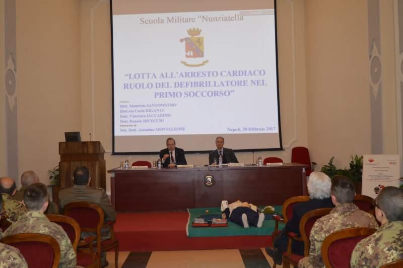 Formazione agli Allievi della Scuola Militare Nunziatella di Napoli